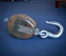 British Admiralty Pulley