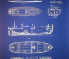 Cargo Boat Blueprint