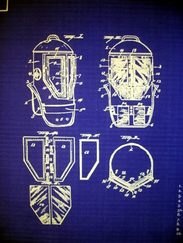 Diving helmet miller dunn style 2 us patent blueprint plans click the photos below for better viewing malvernweather Images