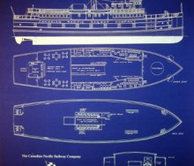 Ferry Boat Blueprint