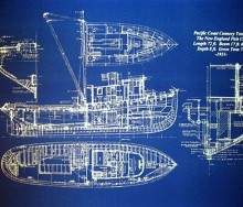 Fishing Boat Blueprint