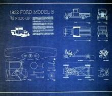 Blueprints archives page 5 of 8 seajunk 1932 ford pickup model b factory blueprint plans malvernweather Choice Image