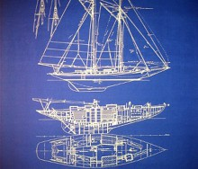 Sailboat Blueprint
