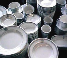 navy dishes