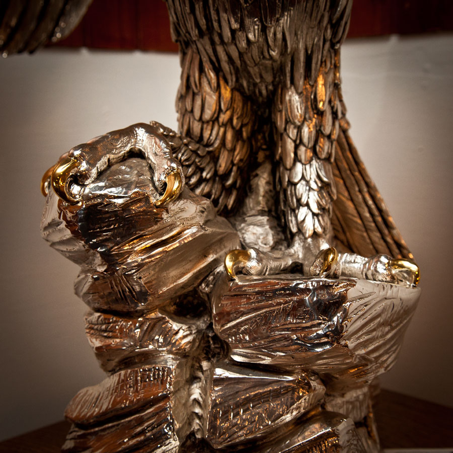 Majestic American Eagle Sculpture By A Giannelli Seajunk