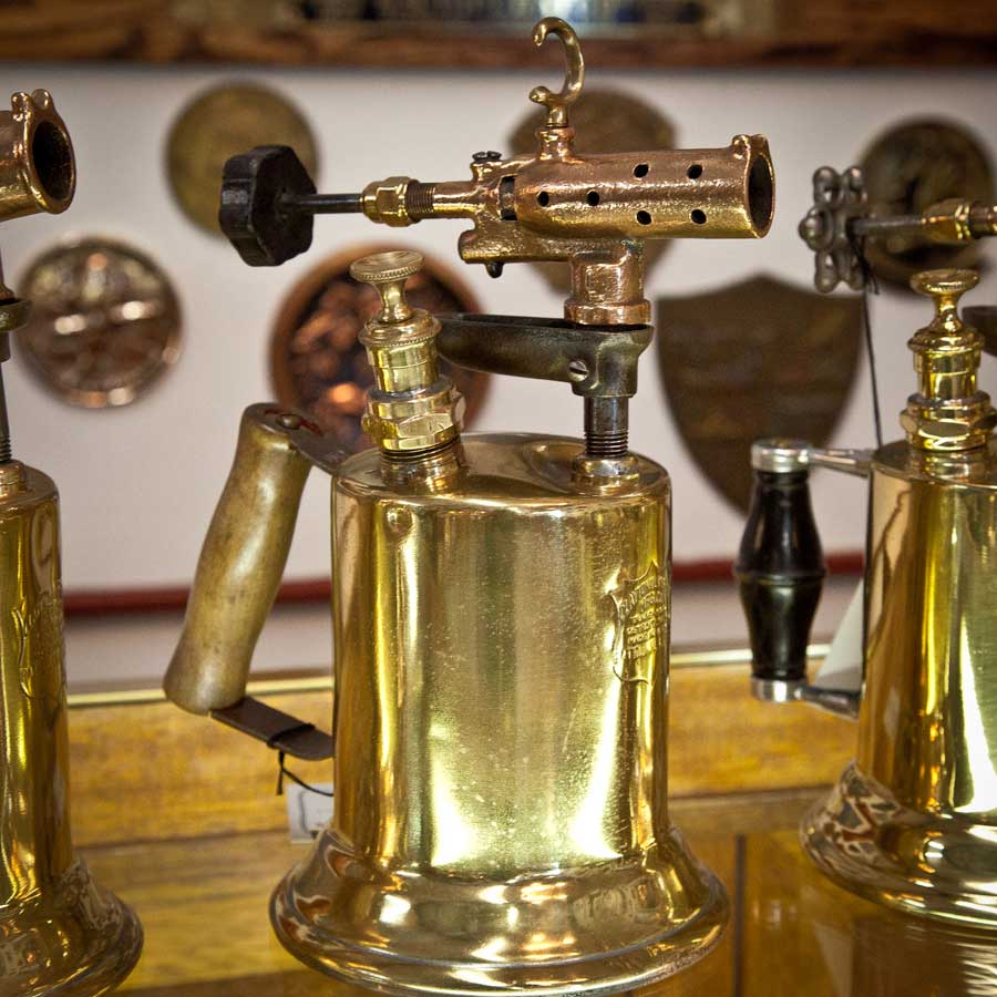Vintage Brass Blow Torches 5 Available