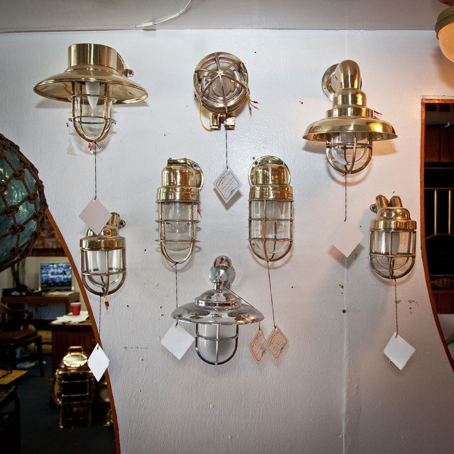 Various Ship S Cage Lamps Seajunk