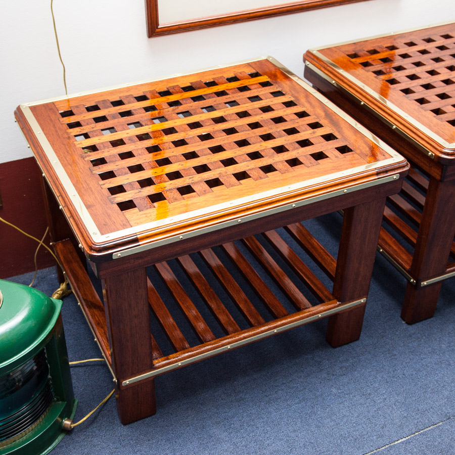 Classic Nautical End Tables Seajunk